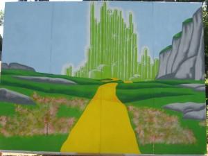 First Background in Summer 2008