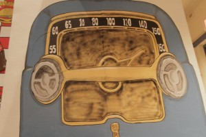 8' x 8' 50's era radio for Grease