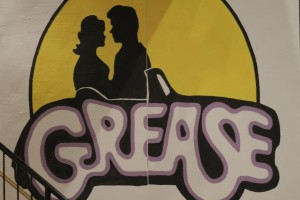 8' x 8' Grease sign